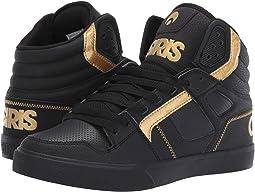 Black/Black/Gold