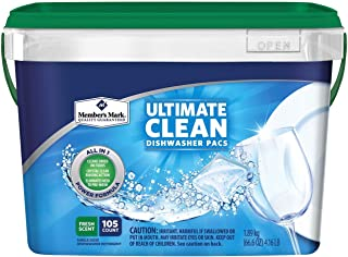 Member's Mark Ultimate Clean Automatic Dishwasher Pacs (105 ct.) AS