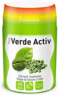 Plameca - Plan 21 Verde Activ 45 Cápsulas Vegetales
