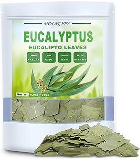 Natural Dried Eucalyptus Leaves, 6.0oz(170g), Eucalyptus Herbal Tea, Cut and Shifted, No Gmo