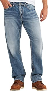 Silver Jeans Co.. Men's Big and Tall Grayson Straight Leg Jeans