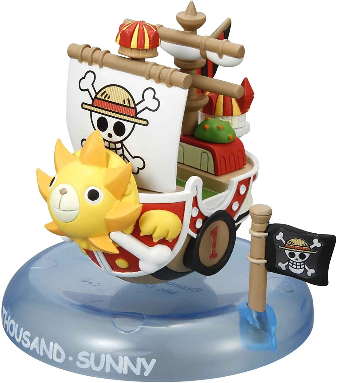 One Piece Yura Yura Core Wobbling Pirate Ship Collection