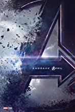 Movie Avengers Endgame Poster 2019 Film Cover Decor Print 18x12 36x24 40x27/""