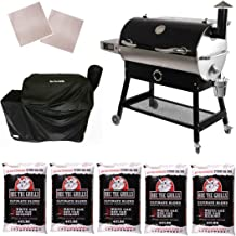 REC TEC Grills | RT-700 | Bundle | WiFi Enabled | Portable Wood Pellet Grill | Built in Meat Probes | Stainless Steel | 40lb Hopper | 6 Year Warranty | Hotflash Ceramic Ignition System