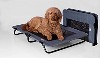 Pet Gear Lifestyle Pet Cot Elevated Bed   No Assembly Required   Premium Tear Resistant Cooling Mesh   Indoor & Outdoor   ...