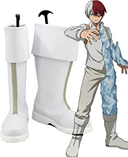 My Hero Academia Shoto Todoroki Shoes Cosplay Costume Boots