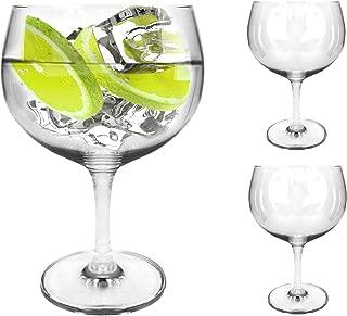 Ginsanity Set of 2 Tritan Crystal Oversized (Extra Large) Spanish Gin & Tonic Balloon Glasses - 696ml