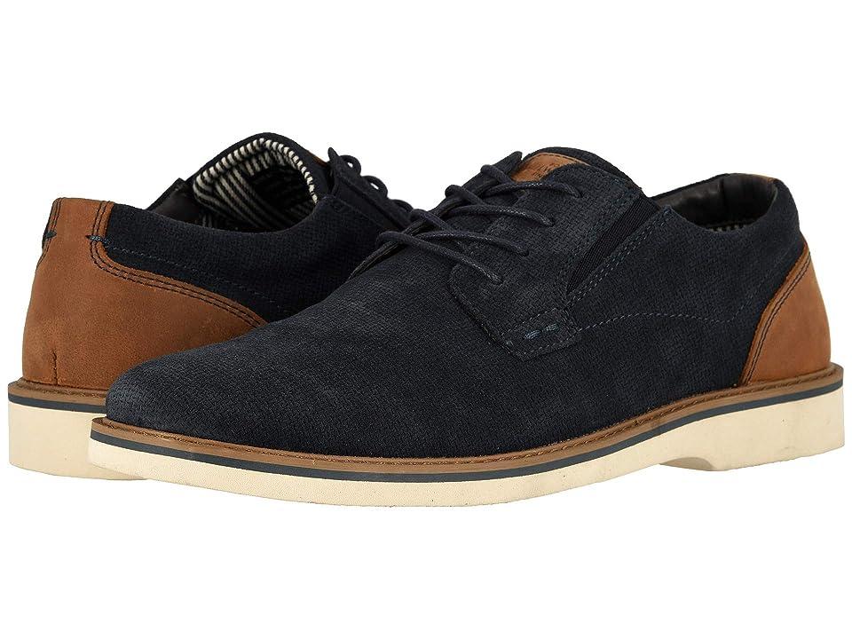 06258d6a04 Nunn Bush Barklay Plain Toe Oxford (Navy Multi) Men s Shoes