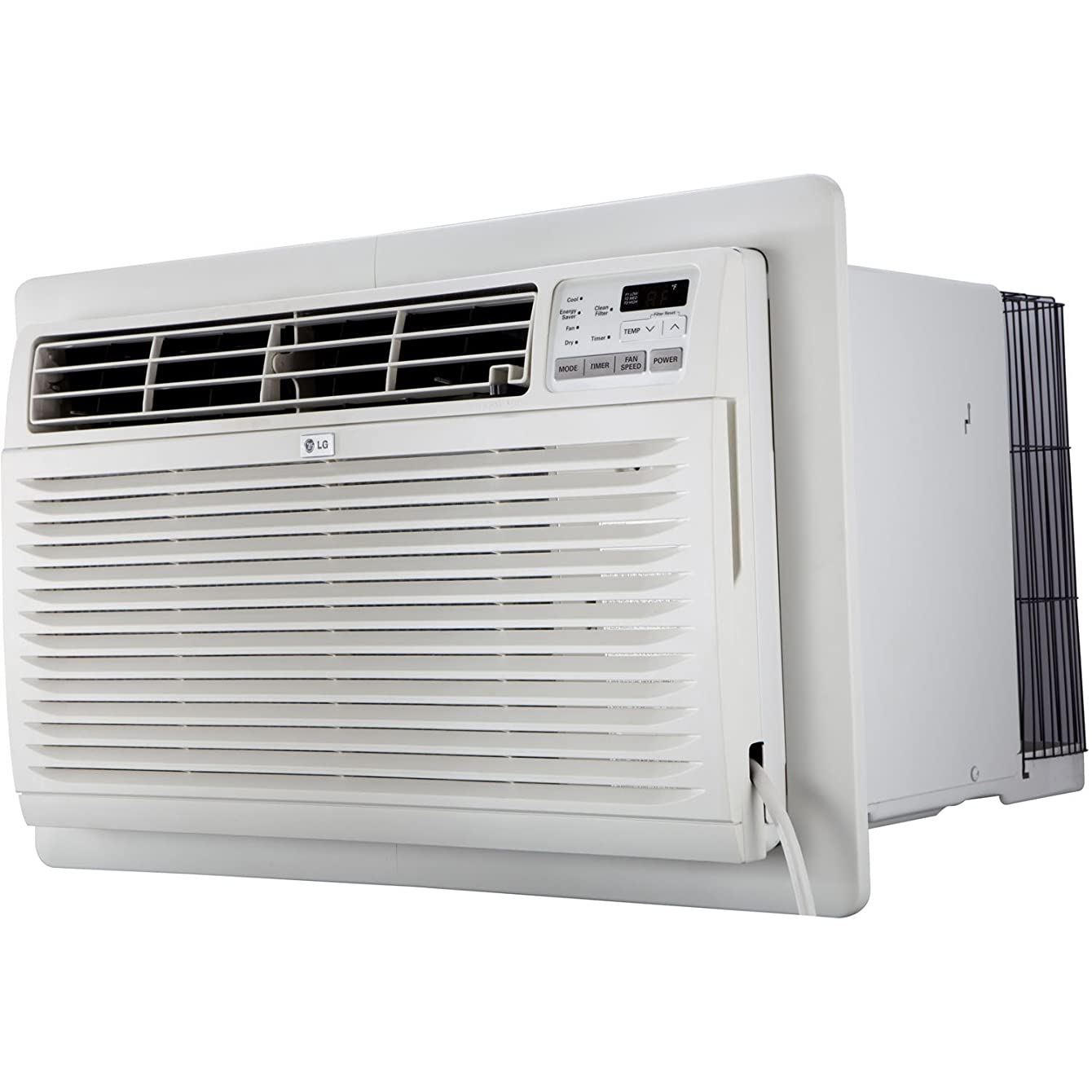 LG LT1236CER 11,500 BTU 230V Through-The-Wall Remote Control Air Conditioner, White