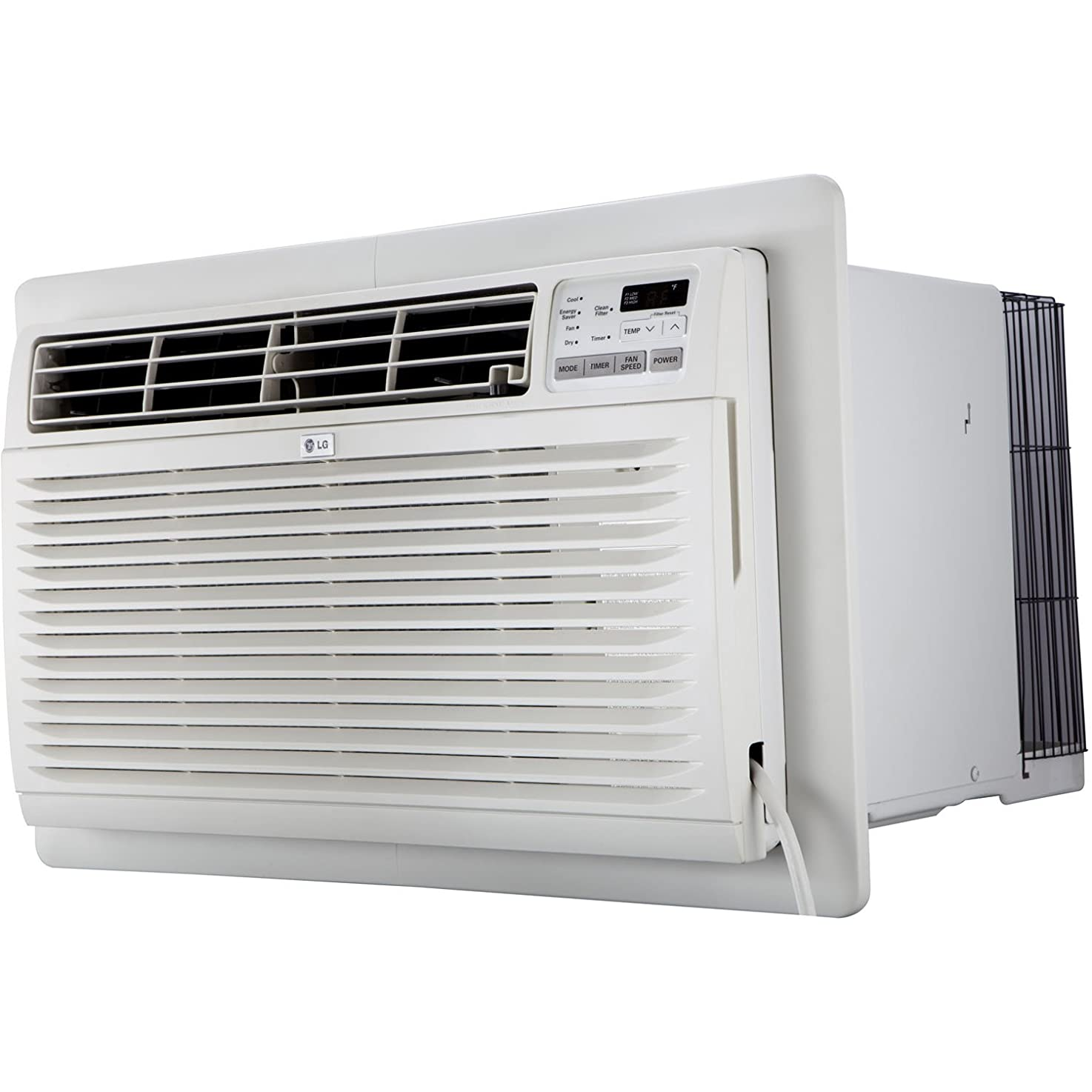 LG LT1236CER 11,500 BTU 230V Through-The-Wall Remote Control Air Conditioner, White ljtyhhcniipkd0