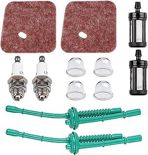 FS55R Air Filter Fuel Line Primer Bulb Tune Up Kit for STIHL FS55 FS38 FS45 FS46 KM55 HL45 MM55 FS100 FS110 FS130 String Trimmer Weed Eater