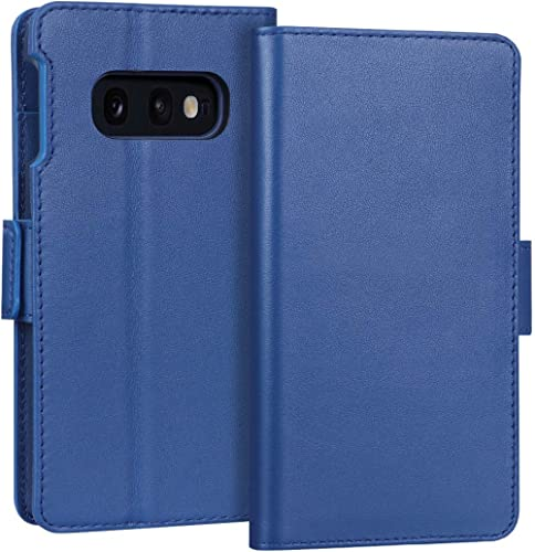FYY Samsung S10e Case Genuine Leather Wallet Case Flip Folio Case Cover with [Kickstand Function] and [Card Slots] Pr...