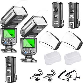 Neewer NW565EX E-TTL Slave Flash Speedlite Kit para Cámara Réflex Digital de Canon