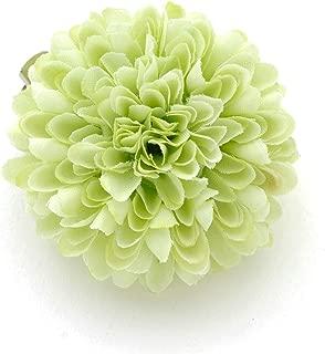 [ミッシュキッシュ]髪飾り ヘアアクセサリー 花かざり ボールマムのクリップ 4511-470