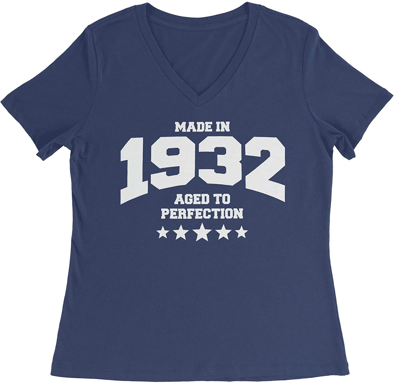 HARD EDGE DESIGN Women's Athletic Aged to Perfection - 1932 T-Shirt