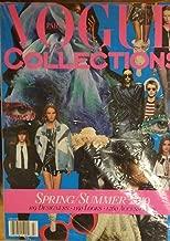 Vogue Collection Paris Magazine Issue :- Spring Summer 2019 + Magazine Cafe Bookmark