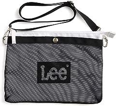 [リー] Lee サコッシュ レディース メッシュ メンズ 斜めがけ ショルダーバッグ ロゴ おしゃれ 横型 キャンプ フェス おしゃれ 0425440