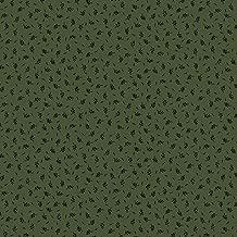 Marcus Fabrics Paula Barnes Companions Green Petite Leaf