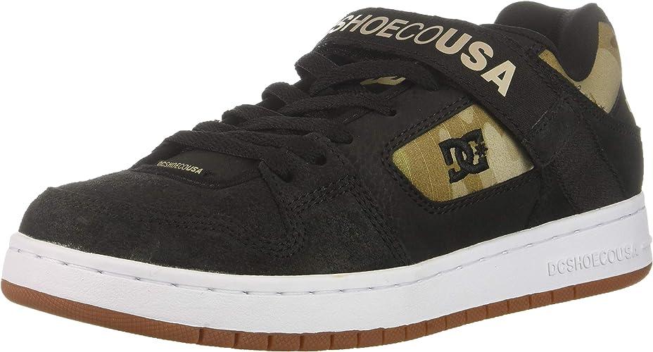 DC chaussures Men's Manteca V Se Low Top baskets chaussures noir Camo