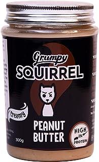 Grumpy Squirrel Peanut Butter (Creamy, 300 g (Pack of 1 ))