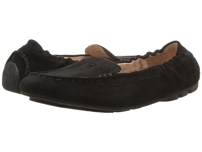 Taryn Rose  Kristine (Black Silky Suede) Womens Shoes