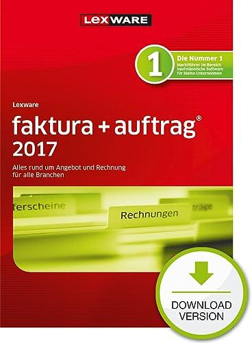 Lexware faktura+auftrag 2017 Download Jahresversion (365-Tage) [Download]