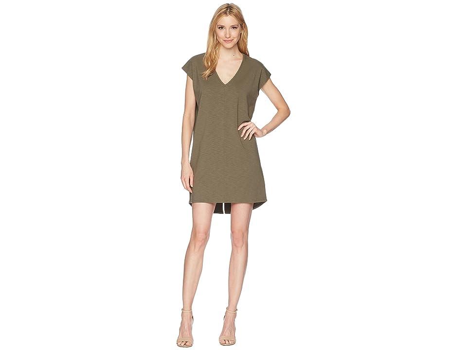 Lilla P V-Neck Dress (Kale) Women