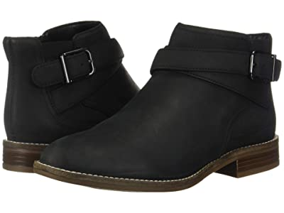 Clarks Camzin Hale (Black Leather) Women