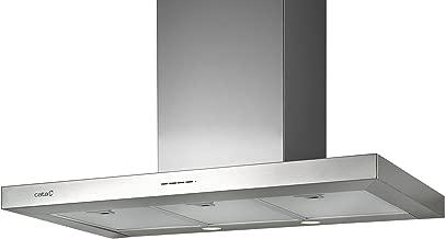 CATA | campana extractora | Modelo SYGMA 900 | 3 velocidades de extracción | campana extractora cocina 850m3/h - 340m3/h | Acabado en acero inoxidable | [Clase de eficiencia energética A]