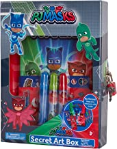 Nickelodeon Cartoon Character Scrapbook Set with Stickers, Markers, and Lock and Key, PJ Masks'