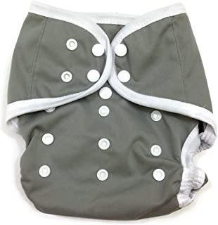 BB2 Baby One Size Solid Happy Leak-free Snaps Cloth Diaper Cover for Prefolds