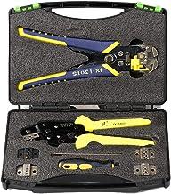 Cuculo JX-D 5301 Crimpador de catraca Alicate de crimpagem Kit de descascador de fios para nutenção elétrica