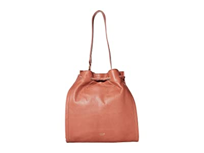 The Sak Grenada Bucket by The Sak Collective (Clay Stud) Handbags