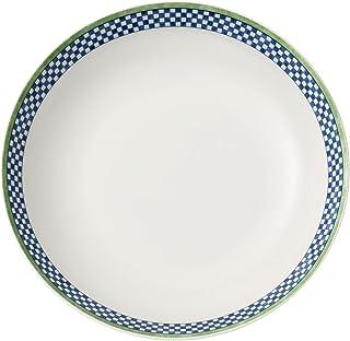 comprar comparacion Villeroy & Boch Switch 3 Castell Plato Hondo, 21 cm, Porcelana, Blanco/Azul/Verde