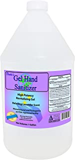 1 Gallon Duda's Gel Hand Sanitizer with Natural Lavender, FDA Approved, 80% Ethanol, 128 Fl Ounce
