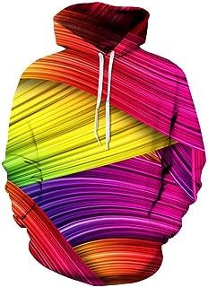 Space Galaxy 3D Sweatshirts Men/Women Hoodies with Hat Print Stars Loose Hoody Thin Tops Outwear