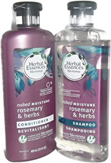 Herbal Essences Naked Moisture Rosemary & Herbs Shampoo and Conditioner Set