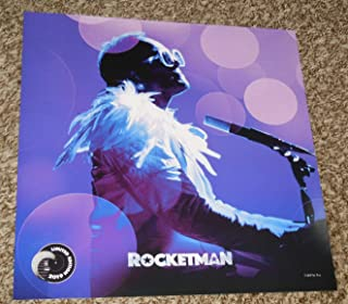 Rocketman Limited Edition 12x12 Inch Poster