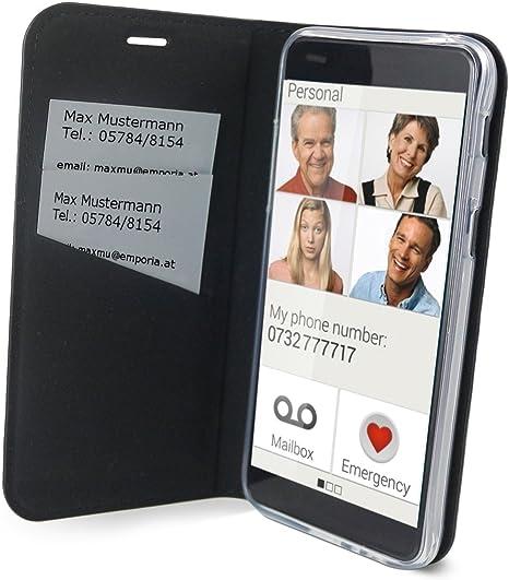 Emporia Handy Schutzhülle Im Book Case Design Mit Elektronik