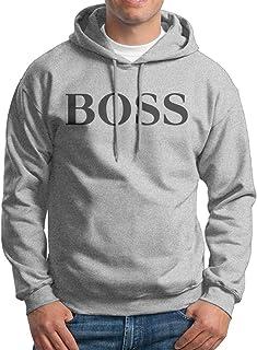 LOYRA Men's Be A Boss Hoodie Ash