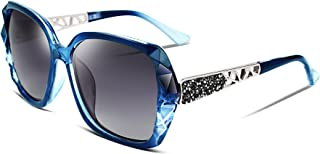 FEISEDY Classic Polarized Women Sunglasses Sparkling...