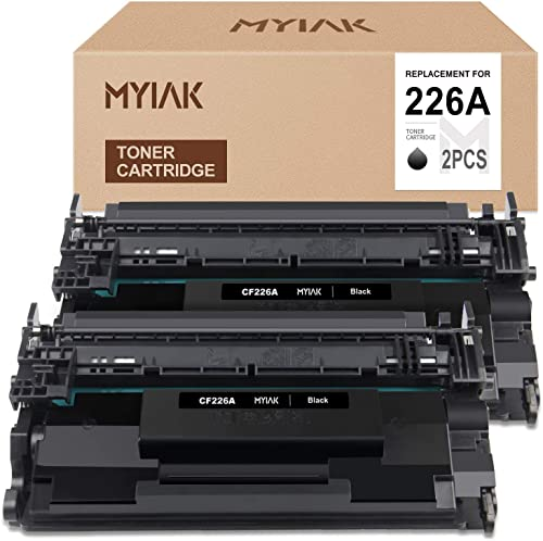 lowest MYIK Compatible Toner Cartridge Replacement for HP 26A CF226A Fit with M402n MFP M426fdw Laserjet online sale Pro popular M402dn M402dw M402d M426dw M426fdn Printer (2 Black) outlet online sale