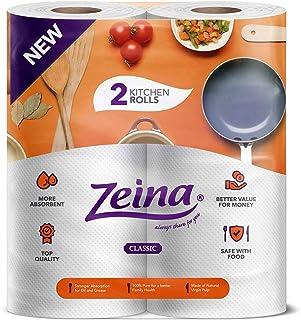 Zeina Kitchen Classic Tissue 2 Rolls Orange
