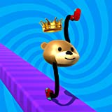 Draw Super Climber Shoe Race - Draw Legs Arena Racing 3D