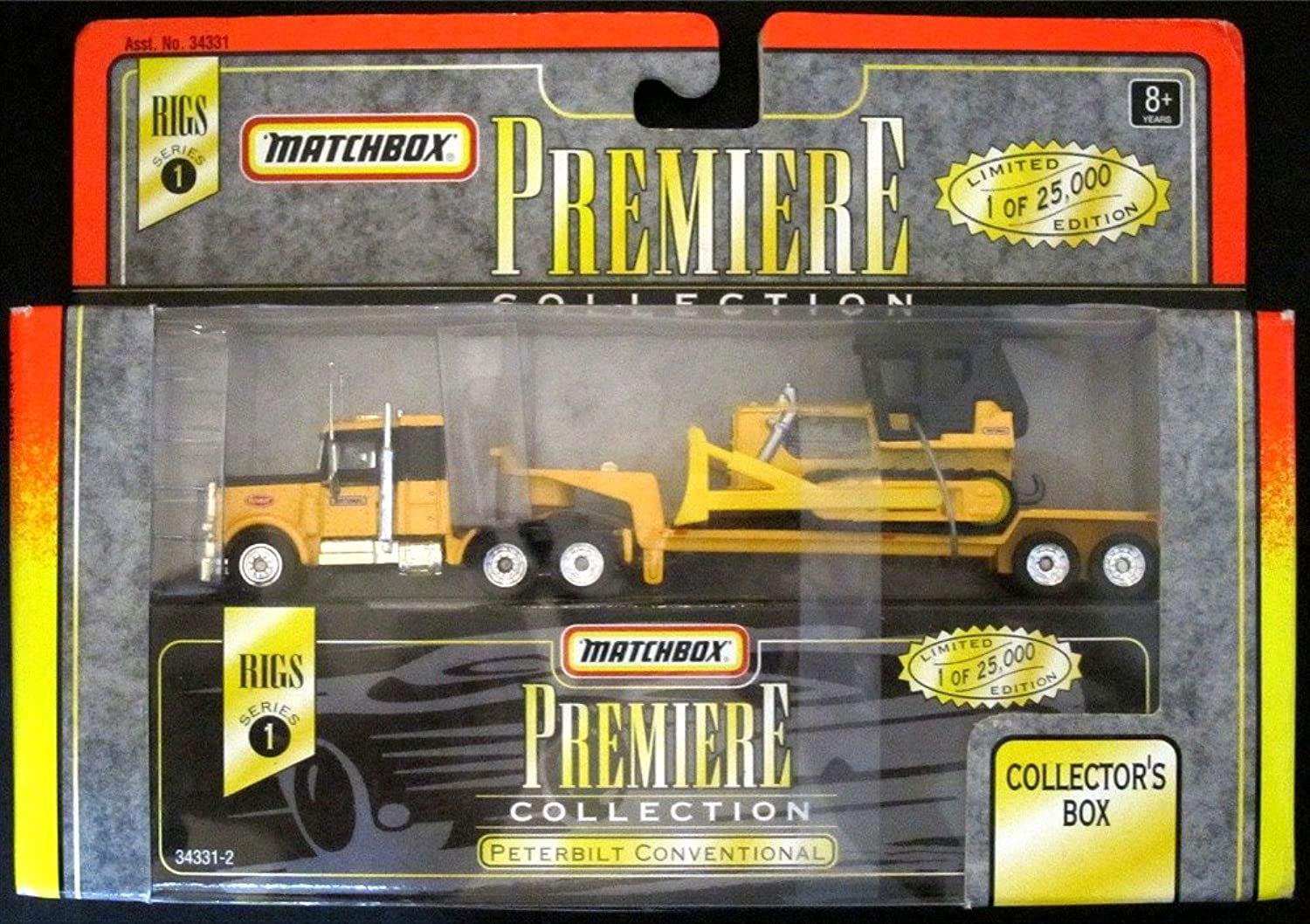 Matchbox Premiere Collection Rigs of the American Highway Collection Trucks(15cm Series)