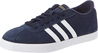 Adidas Courtset Contrast Counter Lace-up Tennis Shoes for Women