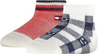 Tommy Hilfiger skarpetki Niemowlęta - chłopcy Tommy Hilfiger Plaid Check Baby Sock (2 pack)