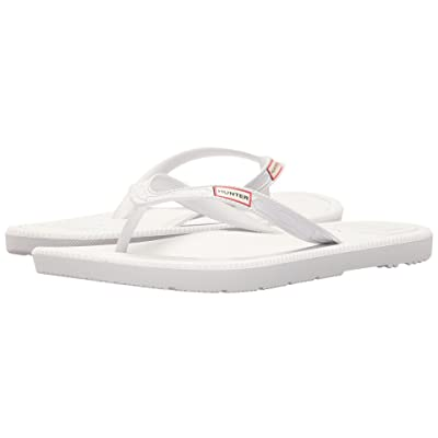 Hunter Original Flip-Flop (White) Women