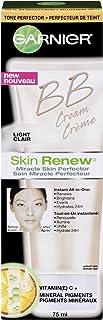 Best Garnier Skin Renew Miracle Skin Perfector Bb Cream, Normal To Dry Skin, Fair/Light, 2.5 Fluid Ounce Review