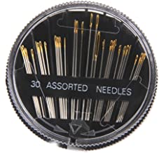 Electomania 30 Pieces in 1 Set Assorted Hand Sewing Steel Needles for Embroidery Mending Craft Quilting